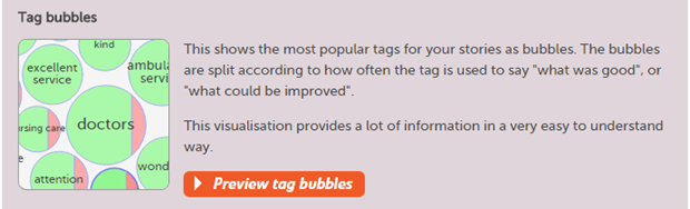 Making tag bubbles